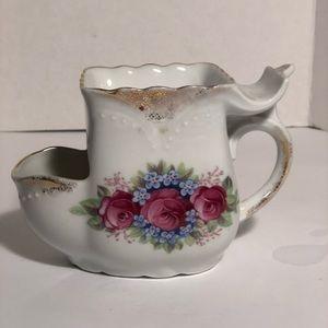 Rare antique vintage porcelain shaving cup mug